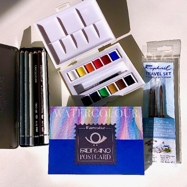 The Sherpa Basic Watercolor Palette
